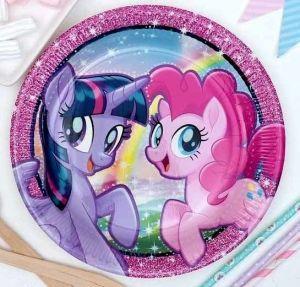 Тарелки Pony и друзья (8 шт)