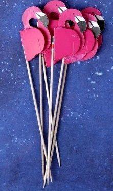 Шпажки Фламинго (6 шт)