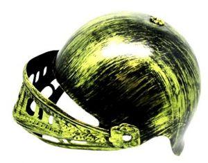 Шлем Средневековый золотой