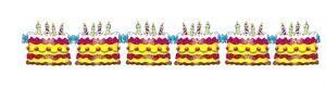 Гирлянда Торт День Рождения (300 см)