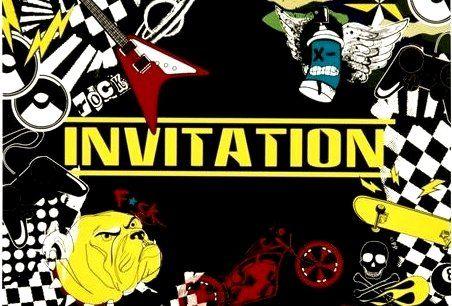 Приглашения Party