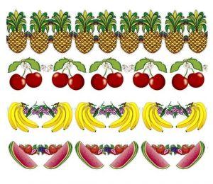 Гирлянда Тропические фрукты (300 см)