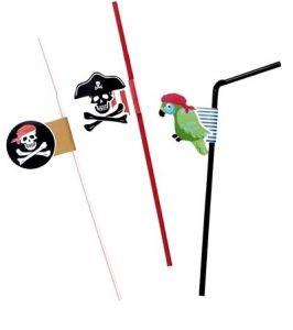 Трубочки Пираты (6 шт)