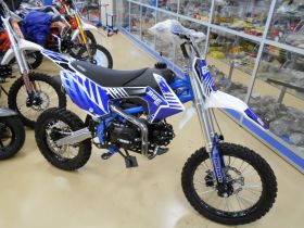 BSE MX 125 17/14 Racing Blue