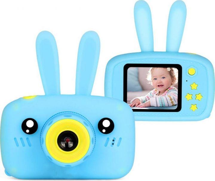 Детский фотоаппарат Fun Camera Rabbit (Синий)