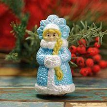 """Пластиковая форма для мыла и шоколада """"Снегурочка ажурная"""""""