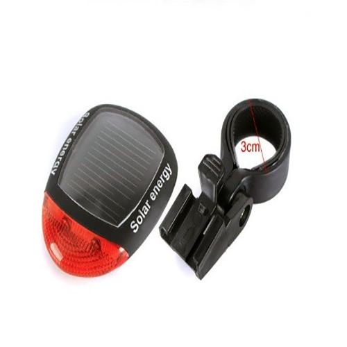 Задний велосипедный фонарь на солнечной батарее