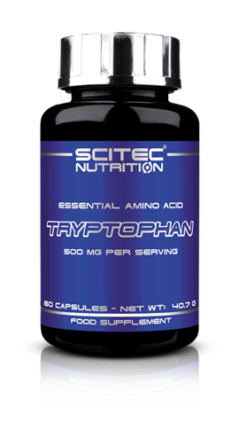 Scitec Nutrition Essential Amino Acid Tryptophan 60 капсул
