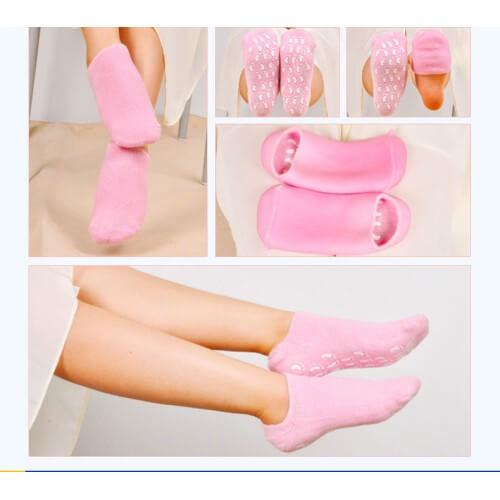 Увлажняющие гелевые носочки