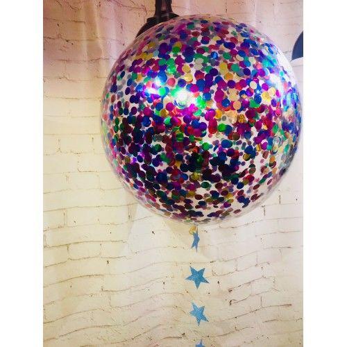 Большой воздушный шар «Ассорти конфетти», 65 см