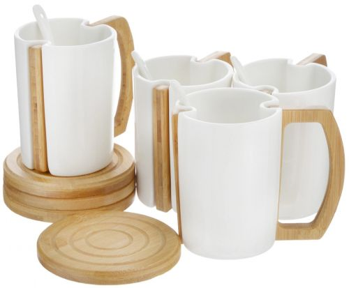 """Набор чайный """"EcoWoo"""", 8 предметов"""