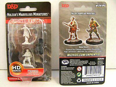 D&D Miniatures - Female Human Ranger