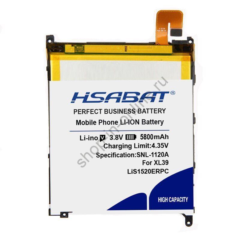 Аккумулятор LiS1520ERPC 5800 мАч