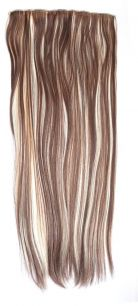 Искусственные термостойкие волосы на заколках на трессе №613/8 (55 см) - 1 тресса, 100 гр.