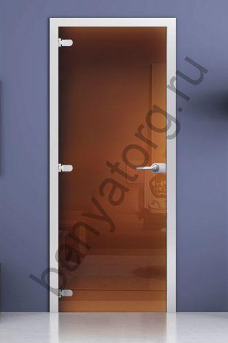 Дверь межкомнатная бронза