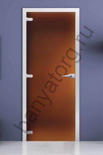 Дверь межкомнатная бронза матовая