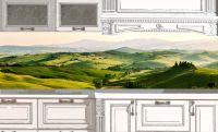 Фартук для кухни - Небо Италии | интерьерные наклейки
