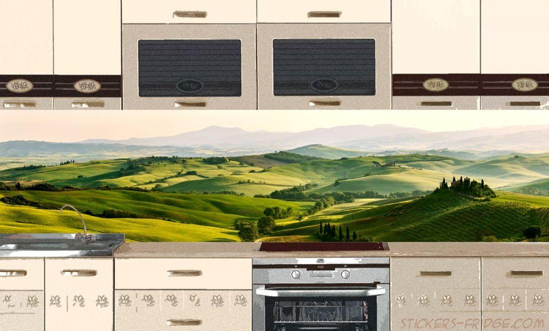 Фартук для кухни - Небо Италии