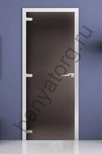 Дверь межкомнатная серая матовая