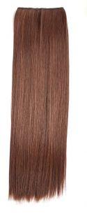 Искусственные термостойкие волосы на леске прямые №M004/030(60 см) - 100 гр.