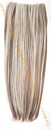 Искусственные термостойкие волосы на леске прямые №F008/613(60 см) - 100 гр.