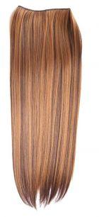 Искусственные термостойкие волосы на леске прямые №F004/027(60 см) - 100 гр.