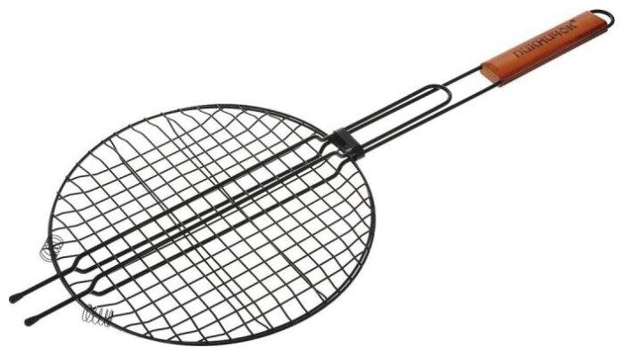 Решетка для гриля круглая Пикничок Сицилийская 401-022 с антипригарным покрытием 30 см
