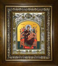 Всецарица икона Божией матери (Пантанасса) (14х18)