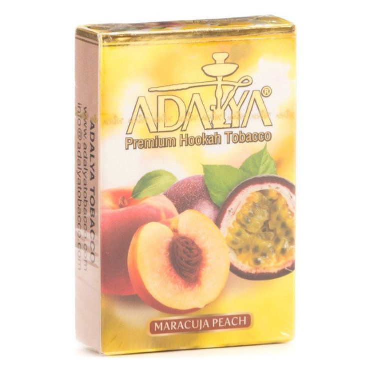 Табак Adalya - Maracuja Peach (Маракуйя и Персик, 50 грамм, Акциз)