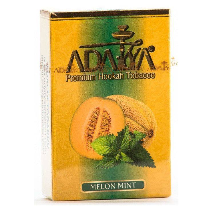 Табак Adalya - Melon Mint (Дыня и Мята, 50 грамм, Акциз)