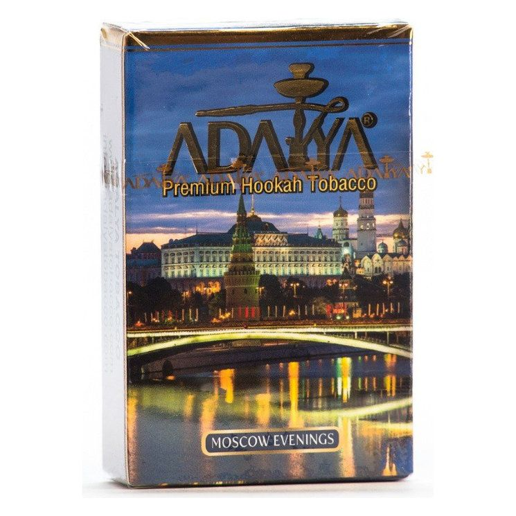 Табак Adalya - Moscow Evenings (Московский Вечер, 50 грамм, Акциз)