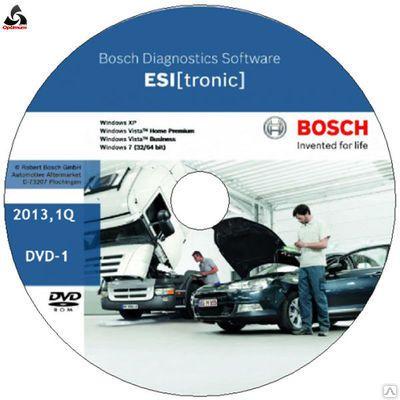1987P12401 Программное обеспечение Bosch Esi Tronic  TRUCK основная на 12 месяцев