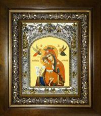 Достойно есть (Милующая) икона Божией матери (14х18)