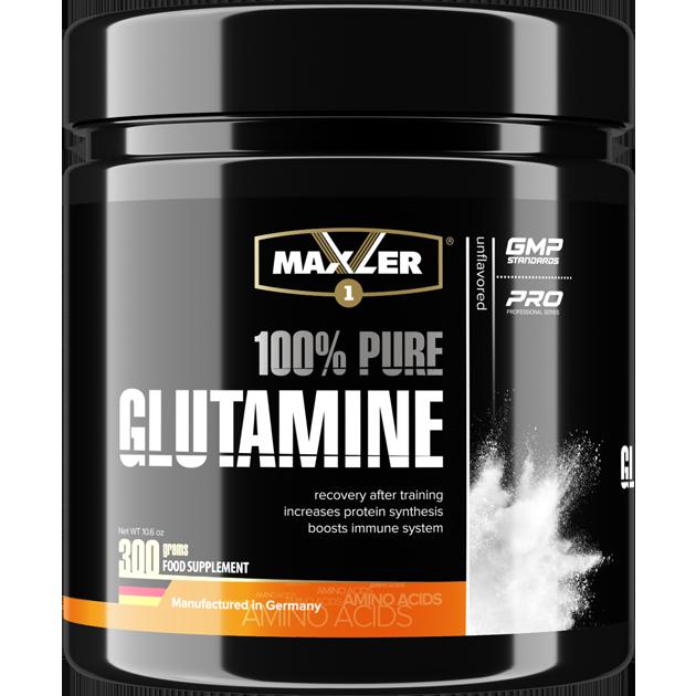 Maxler 100% Pure Glutamine 300 г.