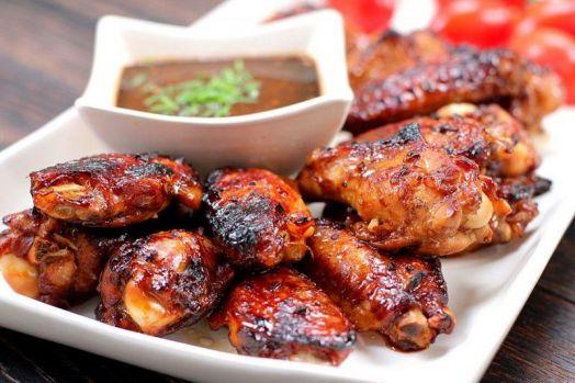 Куриные крылышки в медовой заливке (цена за кг)