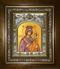 Избавительница икона Божией матери (14х18)