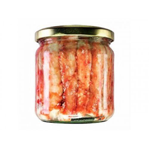 Мясо камчатского краба в с/с, 400г, высший сорт, Дальний Восток (цена за шт)