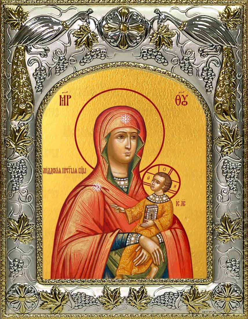 Лиддская икона Божией матери (14х18)