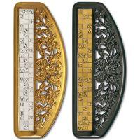 Ручка-скоба Enrico Cassina Mosaico C47200. Длина 320 мм