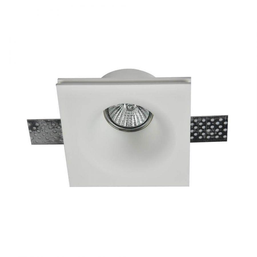 Встраиваемый светильник Maytoni Gyps DL001-1-01-W