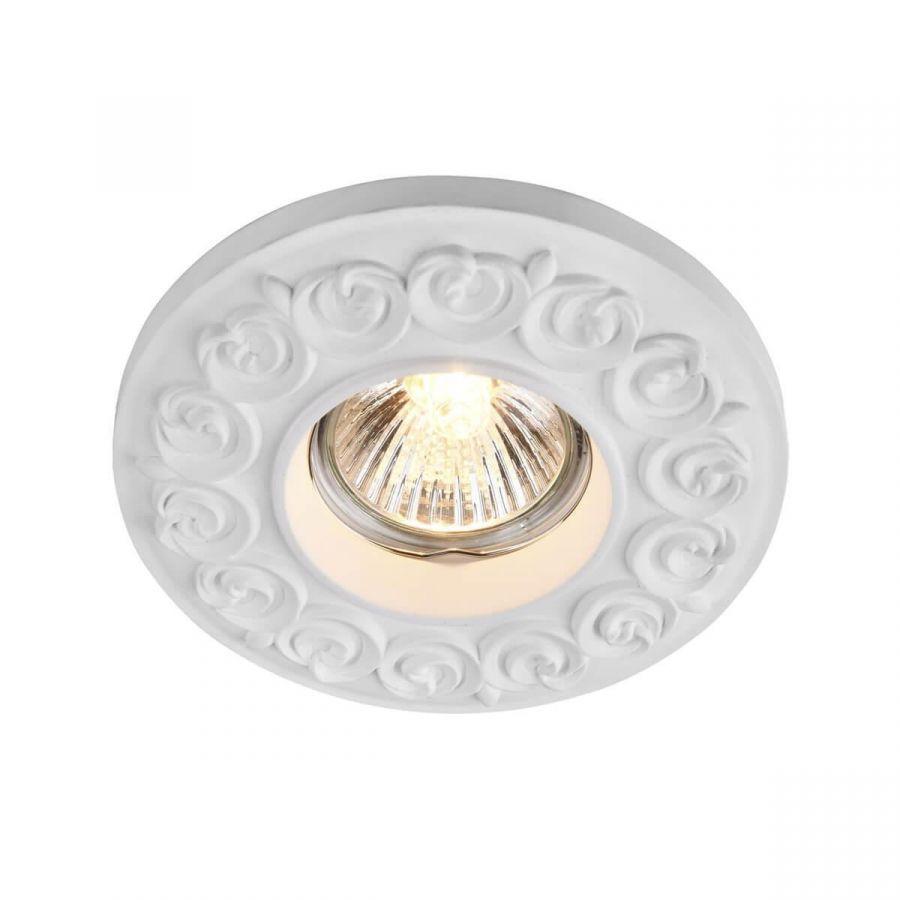 Встраиваемый светильник Maytoni Gyps DL279-1-01-W