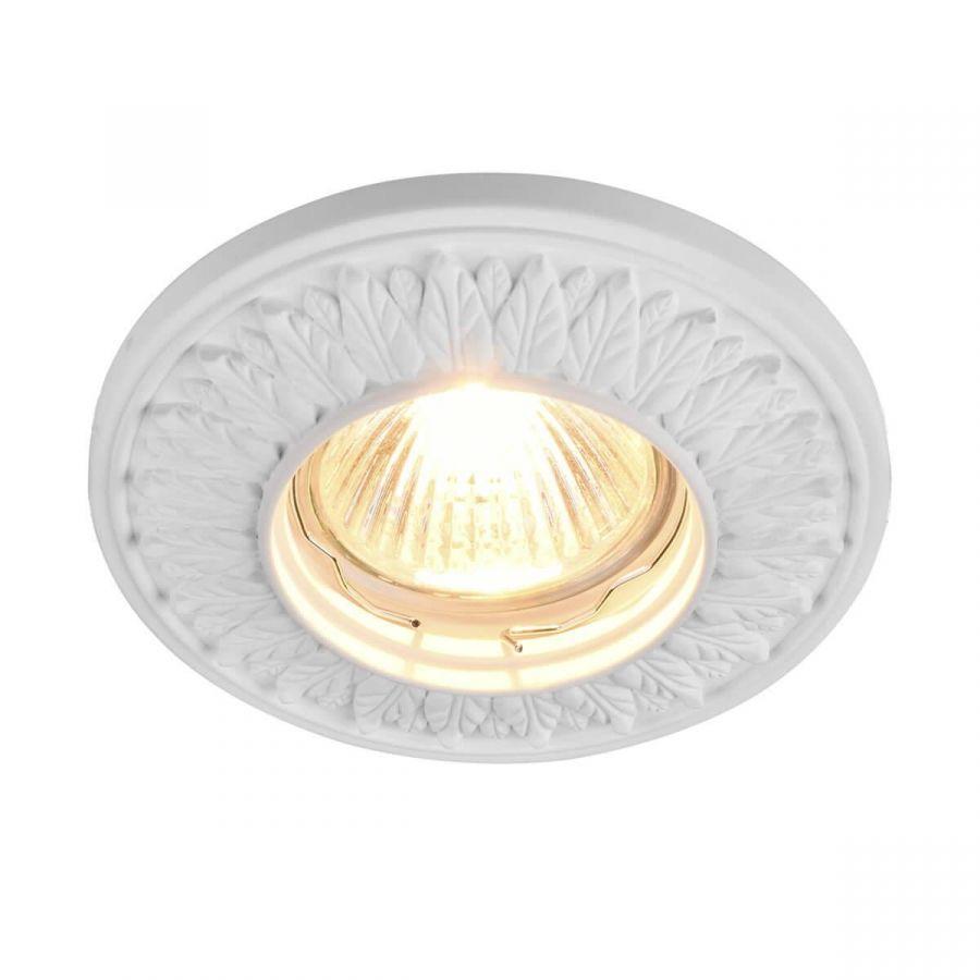 Встраиваемый светильник Maytoni Gyps DL280-1-01-W