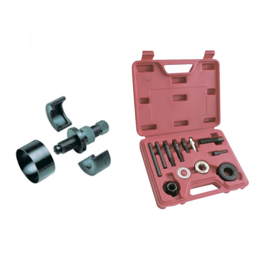 Комплект для монтажа и демонтажа шкива гидроусилителя руля 12 предметов