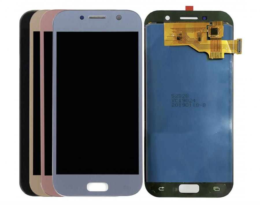 LCD (Дисплей) Samsung A520F Galaxy A5 (2017) (в сборе с тачскрином) (blue)