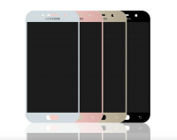 LCD (Дисплей) Samsung A520F Galaxy A5 (2017) (в сборе с тачскрином) (pink) Оригинал