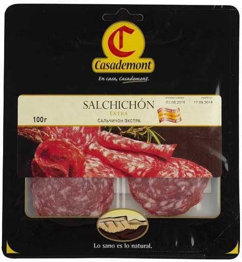 Колбаса сыровяленая Casademont Salchichon Extra, 100 граммов (цена за шт)