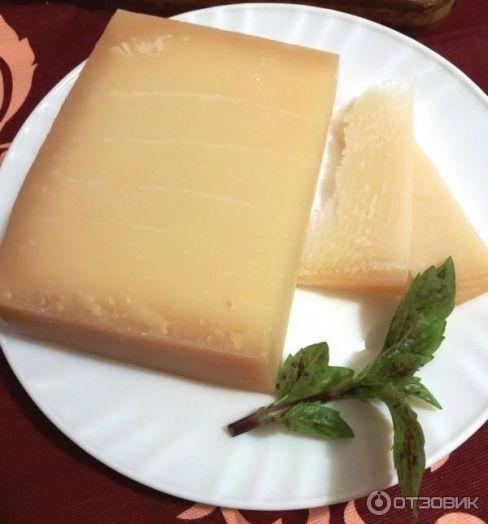 Сыр пармезан де люкс, Белоруссия. 100 граммов (цена за шт)
