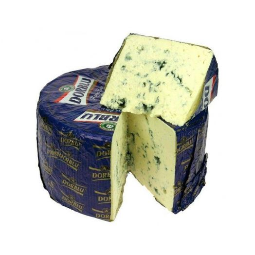 Сыр с голубой плесенью Dorblu Grand Noir, Германия, 100 граммов (цена за шт)