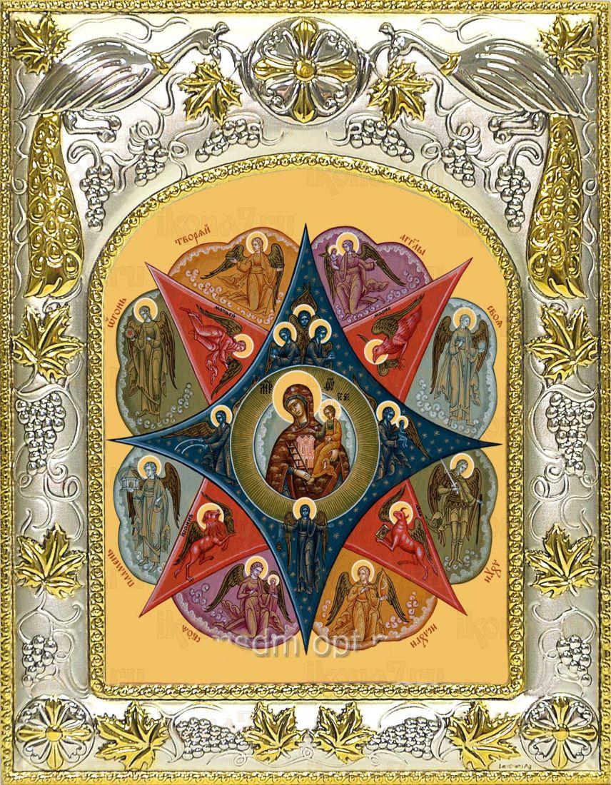 Неопалимая Купина икона Божией матери (14х18)
