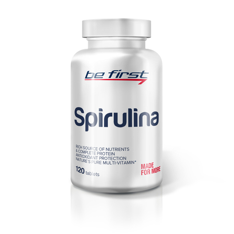 Be First Spirulina 120 таблеток